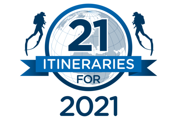 Scuba diving itineraries for 2021