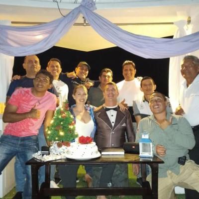 Wedding on the Galapagos