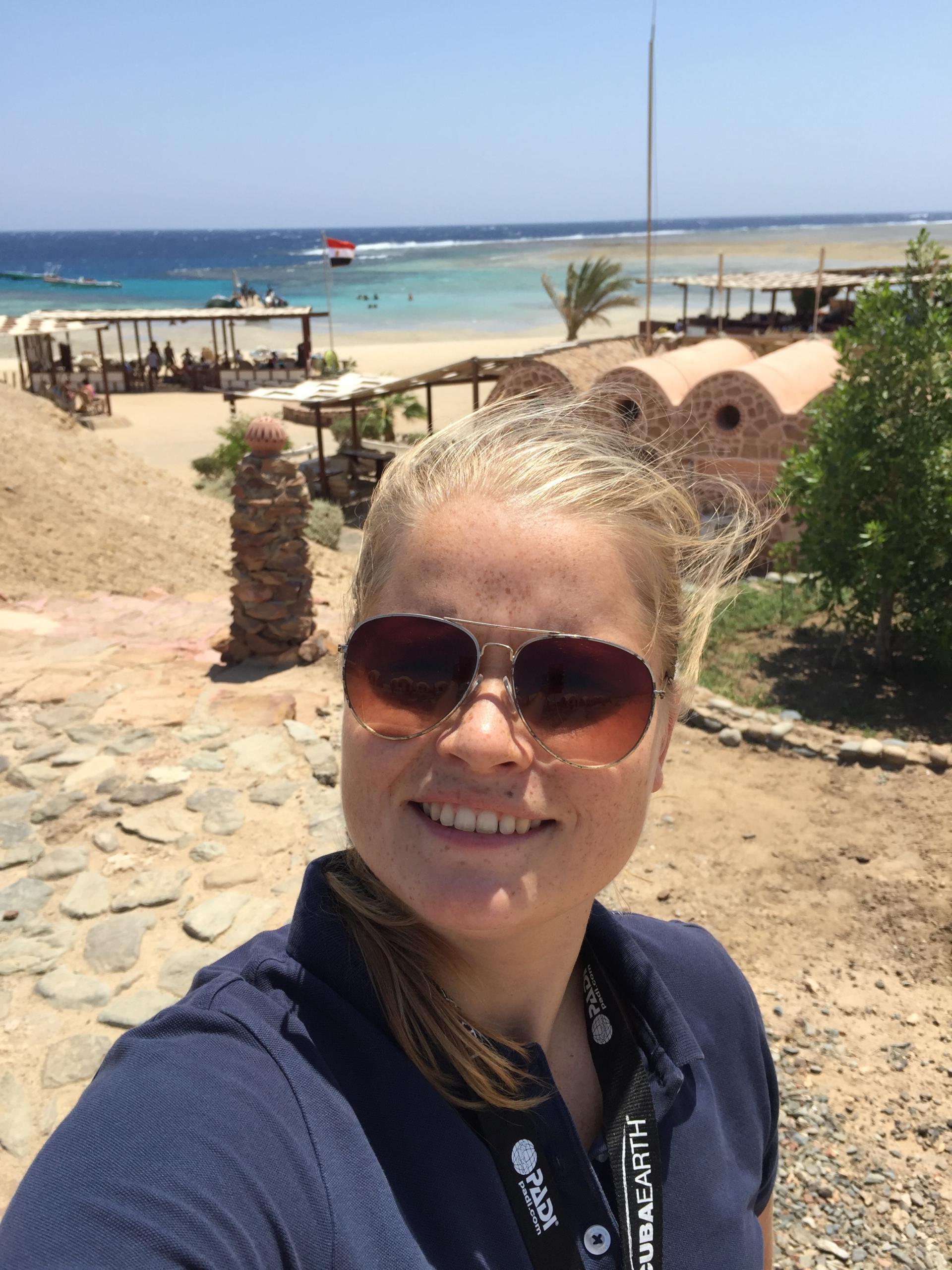Sara Salomonsson, Dive Travel Consultant, Blue O Two